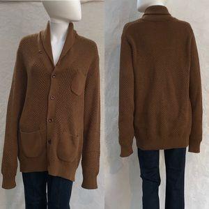 J. CREW 💝 Shawl Collar Long Sleeve Knit Cardigan